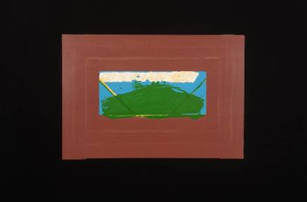 Sir Howard Hodgkin CH CBE, Indian View G, 1971