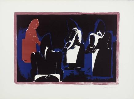 Josef Herman OBE, Four Fisherwomen, 1974