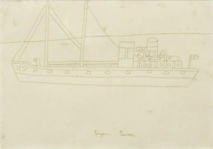 Bryan Pearce, St Ives Steamer, c. 1960s