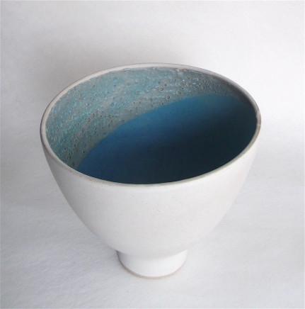 Sarah Perry, White Crust Bowl, 2018