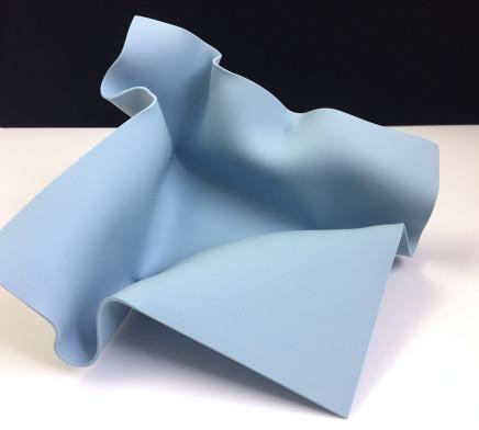 Lisa Pettibone, Ice Blue Fold, 2018