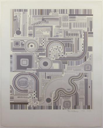 Eduardo Paolozzi CBE RA, Untitled Grey, 1974