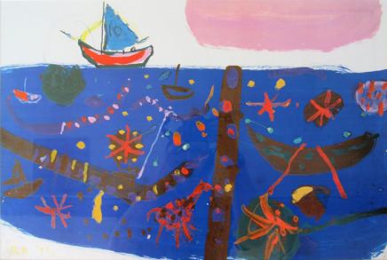 Roger Hilton CBE, 'Sailing Vessel'
