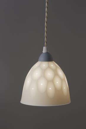 Sasha Wardell, Bone China Sparkle Pendant, 2017