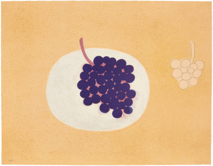 William Scott RA, Grapes, 1979