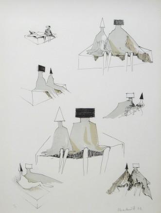 Lynn Chadwick CBE, Seated Figures, 1971, published 1973