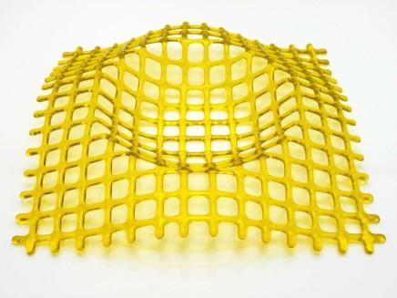 Lisa Pettibone, Deep Space Dip Yellow, 2018