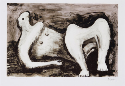Henry Moore OM CH, Reclining Figure Arch Leg, 1979