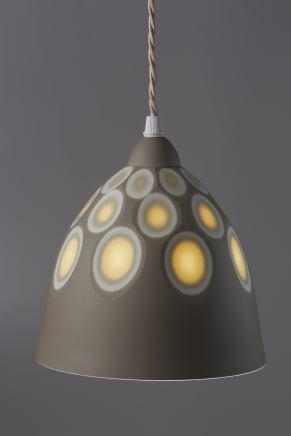 Sasha Wardell, Space Pendant lamp shade, 2017