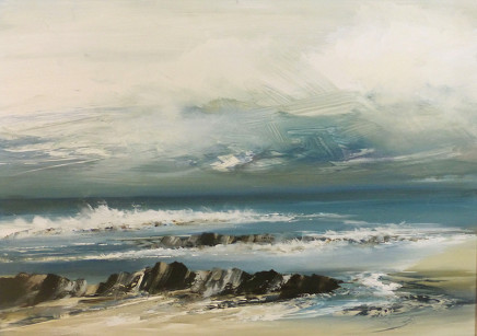Jenny Hirst, Advancing Tide, 2017