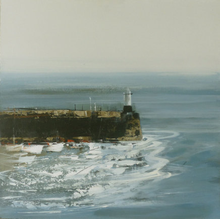 Jenny Hirst, Across to the Pier, 2018