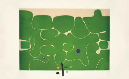Victor Pasmore CH CBE, Il Labirinto della Psiche, 1986