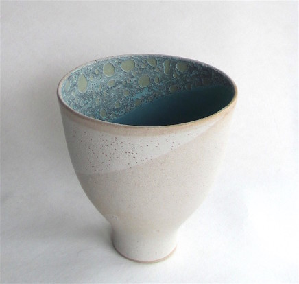Sarah Perry, White Crust Bowl, 2019