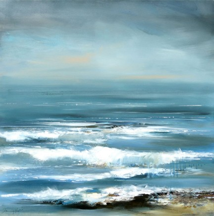 Jenny Hirst, When Sea Meets the Sky, 2016