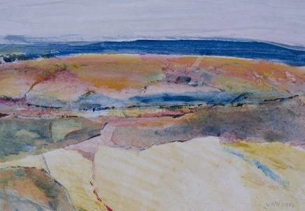 Vincent Wilson, Looking Across Moorland, 2014