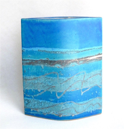 Sarah Perry, Blue Seascape Ellipse, 2019