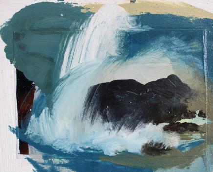 Sara Dudman RWA, Walking Past Sea Rock 3 (Kynance Cove) study 5, 2019