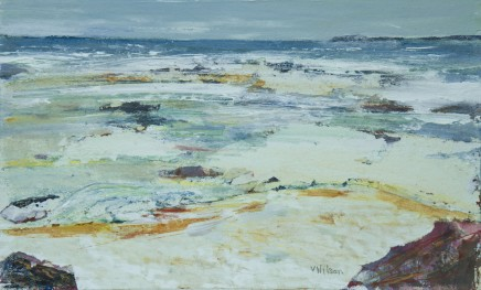 Vincent Wilson, Breezy Day Near St. Ives, 2014