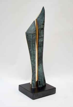 Margaret Lovell D.Litt. Hon FRBS RWA, Twin Hope, 2003