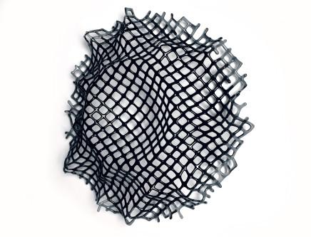 Lisa Pettibone, Collapse - Grey to Black, 2018
