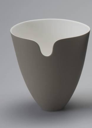 Sasha Wardell, Edge Vase - Sepia , 2017