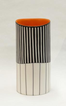 Lara Scobie, Tall Cylinder Vase II, 2018