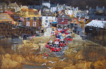 Mike Bernard RI, Port Isaac Harbour, 2018