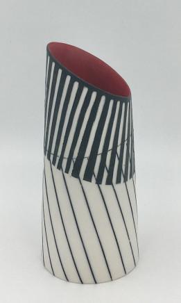 Lara Scobie, Vase with Tilted Rim, 2019