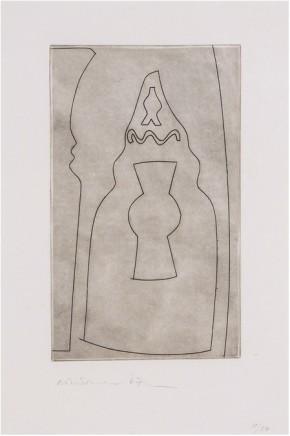 Ben Nicholson OM, Curled Turkish Form (C.133), 1967