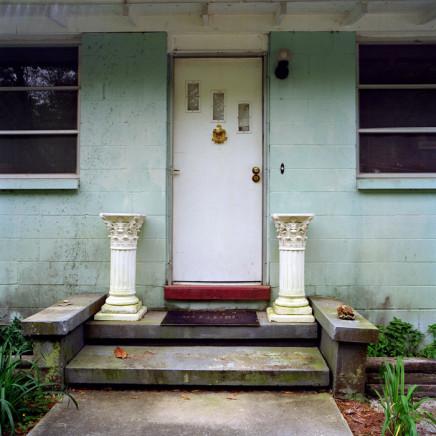 Phil Bergerson, Micanopy, Florida [door w/ columns], 1998