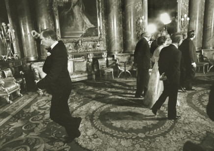 Doug Ball, Prime Minister Pierre Trudeau, shown performing his famous pirouette during a May 7, 1977, picture session at Buckingham Palace in London, 1977