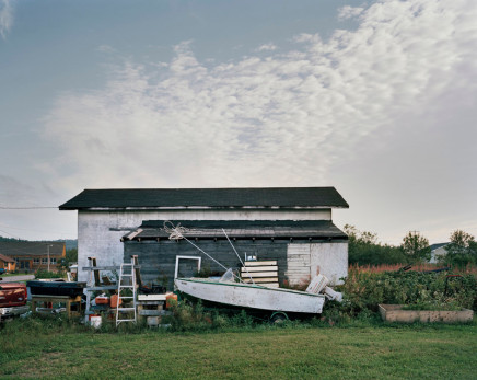 Joseph Hartman, Boat and Shed, Heron Bay, ON, 2010