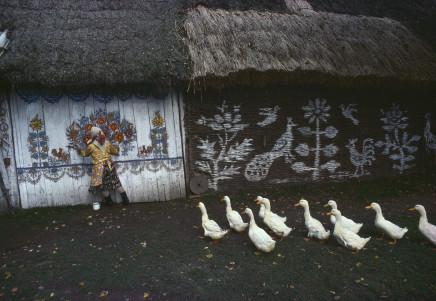 Bruno Barbey, Folk Art in Zalipie, near Tarnów, Poland, 1976