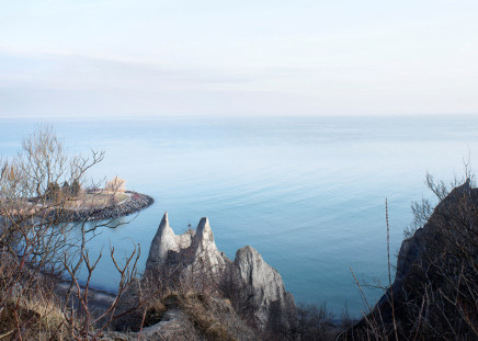 Robert Burley, Scarborough Bluffs Park, 2014