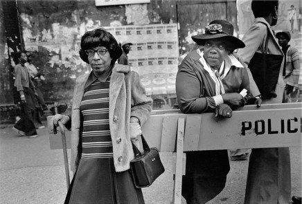 Dawoud Bey, Two Women at a Parade, 1978