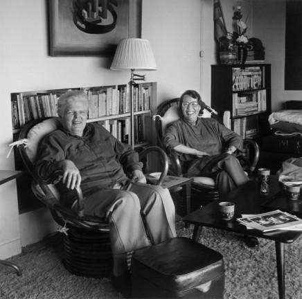 Robert Giard, Phyllis Lyon and Del Martin, 1989