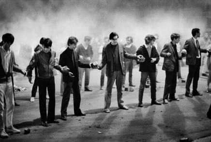 Bruno Barbey, Rue Gay-Lussac, Paris, France, May 10th, 1968