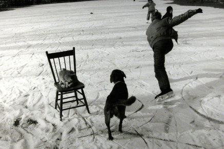 Larry Towell, The Skating Pond, Lambton County, Ontario, Canada, 1992