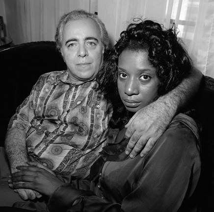 Rosalind Fox Solomon, Miami Beach, Florida [Couple on a Couch], 1994