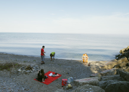 Robert Burley, Beachfront near the Toronto Hunt Forest, 2014