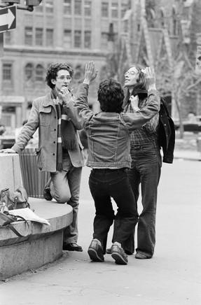 Sunil Gupta, Alan, Jeff and Cass (Frank), 1975