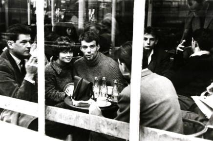 George S. Zimbel, Couple with Coke, Paris, 1952