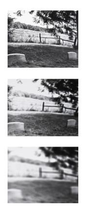 Larry Towell, Untitled [Cemetery], 1974
