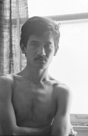 Sunil Gupta, Sunil at 3425 Stanley, circa 1974