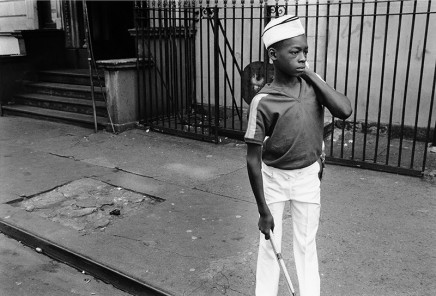 Dawoud Bey, A Young Boy from a Marching Band, 1977