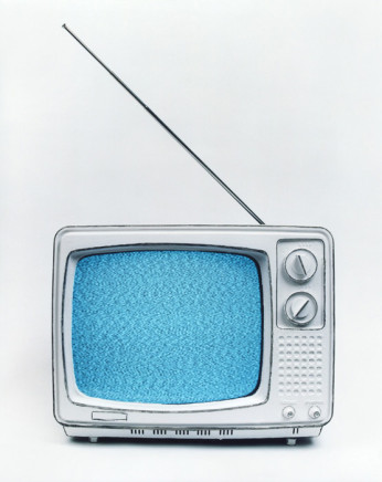 Cynthia Greig, Representation No. 22 (black and white television), 2002