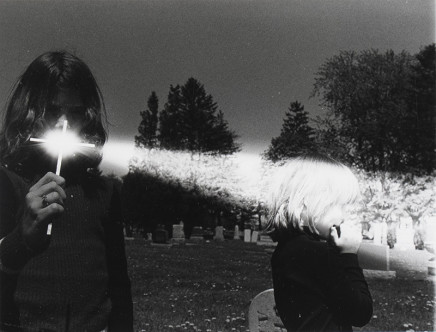 Larry Towell, Untitled [Ray of light], 1974