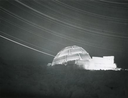 Richard Harrington, Untitled [Igloo at night], 1952