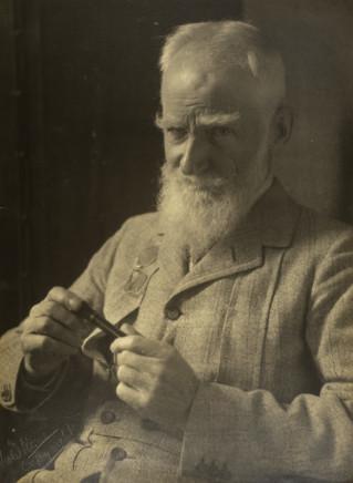 Violet Keene Perinchief, George Bernard Shaw, circa 1940