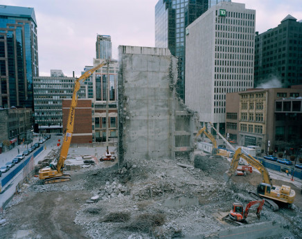Joseph Hartman, Deconstruction, Bay and Adelaide, Toronto, ON, 2006